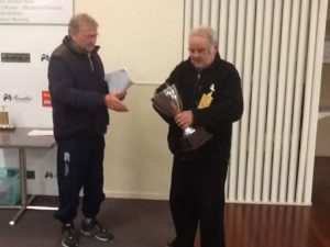 Win Arnold winner East Section. Overall winner of the Flock and Yearling Champs from Raumati 4/10/2014