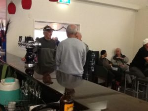 Members at the bar awaiting the results of ARPF Invercargill and Christchurch