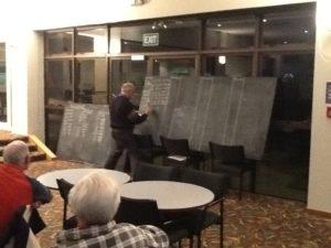 Neville Rhodes writes up the results - Good job Neville.